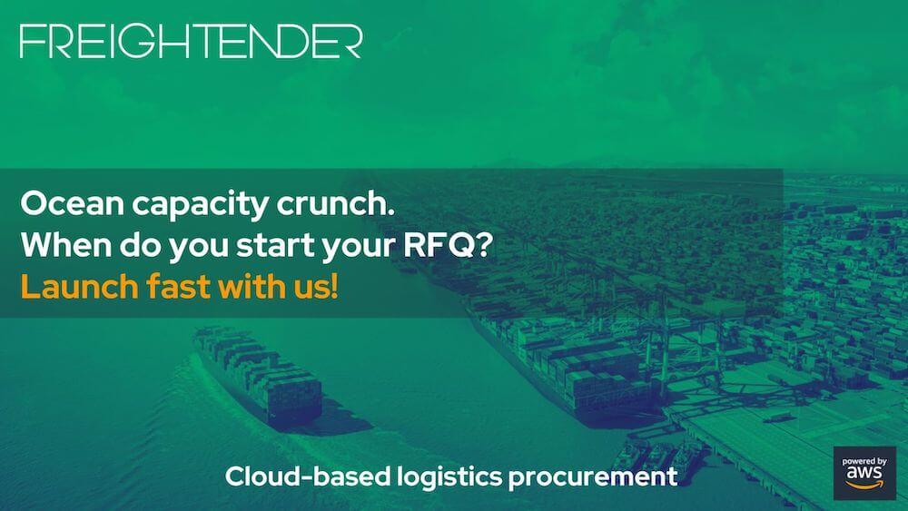 ocean freight rfq freightender